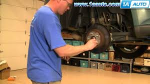 how to install replace rear brakes chevy equinox pontiac torrent