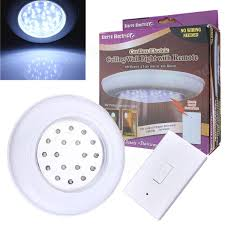 Cordless Ceiling Light Battery Operated Wireless Led Light Remote Ceiling