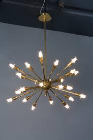 Vintage Sputnik Light Fixture Vintage Brass Sputnik Light Fixture With Correct Starlight Bulbs