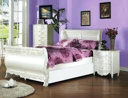 soft bed frame twin white metal princess cinderella carriage kid