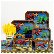 construction party supplies construction birthday party supplies kit target
