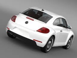 porsche volkswagen beetle 3d model volkswagen beetle classic 2015 cgtrader