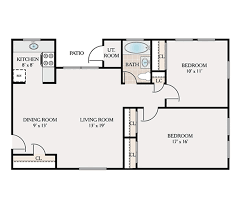 2 bedroom 1 bath floor plans floor plans pineview apartments for rent in jackson nj