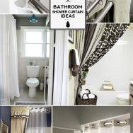 shower curtain ideas for small bathrooms shower curtain ideas ideas about bathroom shower shower