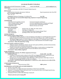 Resume Jobs Objective by Resume Samples Expected Graduation Date