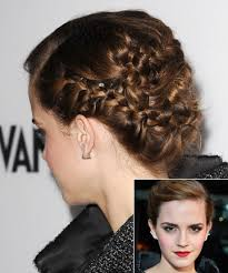emma watson hairdos easy step by step emma watson s intricate braids 17 easy updos for short hair