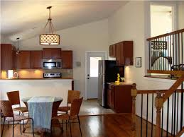kitchen decorating using solid cherry wood kitchen cabinet