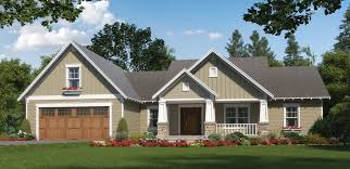 home plan one level craftsman with character startribune com