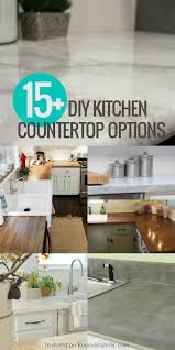 kitchen counter top options diy kitchen countertops