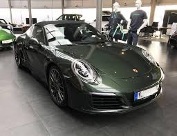 porsche brewster green 911 in green visionary tokyo ring of colour