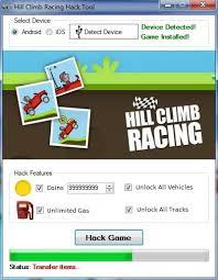 hill climb hack apk hill climb racing hack tool android ios hacksbook