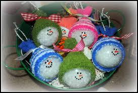 diy snowman tree ornaments 10 cool diy snowman