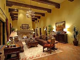 Tuscan Style Chandelier Tuscan Wall Paint Ideas Textured Walls In Living Room With Exposed
