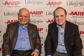 aarp convention 2013 brings don rickles and bob newhart together
