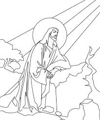free printable jesus coloring pages kids