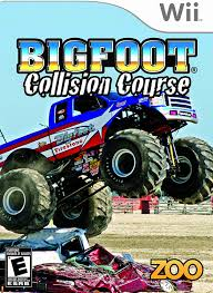 monster truck bigfoot video amazon com bigfoot collision course nintendo wii artist not