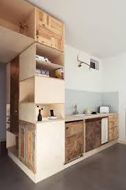 cuisine studio coin cuisine bois pour étudiant cuisine pour studio