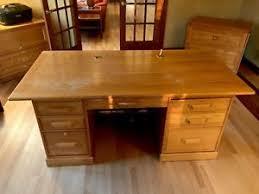 Oak Office Desks Solid Oak Desk Ebay