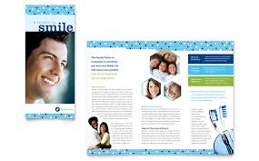 brochure templates office dentistry dental office brochure