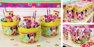 minnie mouse party supplies minnie mouse party favors stickers bracelets crayons more