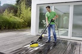 Patio Scrubber Hire T550 Patio Cleaner Kärcher Uk