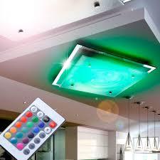 Wohnzimmer Lampe Dimmen Elegante Led Deckenleuchte Aus Glas Lampen U0026 Möbel Innenleuchten