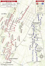 Map Of The Upper Peninsula Of Michigan by 7th Michigan At The Battle Of Gettysburg Military History Of The