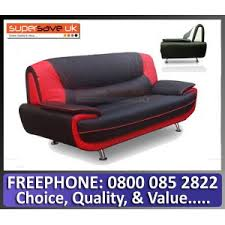 Red Leather 2 Seater Sofa Faux Leather Sofas Sofas U0026 Living Room
