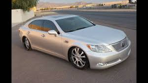 lexus ls 460 lowered fesler built 2006 lexus ls460 l youtube