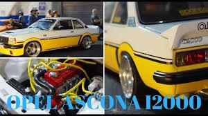 opel ascona tuning opel ascona i2000 modified tuning 1 18 scale model youtube