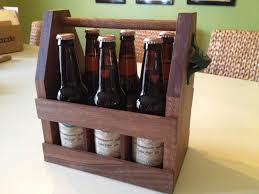 carry your beer in style with these diy wooden six pack holders