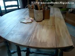 Drop Leaf Farm Table Tiaras And Bowties Faux Farmhouse Planked Drop Leaf Dining Table