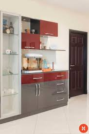 Cabinet Designs For Small Kitchens Best 20 Crockery Cabinet Ideas On Pinterest Display Cabinets