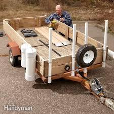 utility trailer the family handyman