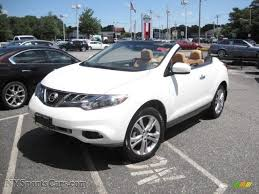 nissan awd convertible 2011 nissan murano crosscabriolet awd in glacier white pearl