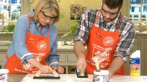 Regrout Bathroom Tile Youtube by Video Home Depot Tip How To Regrout Tile Martha Stewart