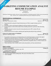 Sample Resume For Research Analyst by Computer Skills On Sample Resume Http Www Resumecareer Info