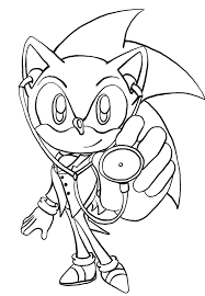 Free Printable Sonic The Hedgehog Coloring Pages For Kids Free Sonic Coloring Pages
