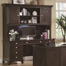 Garson Credenza with Hutch with Task Light « HandADiscount Furniture