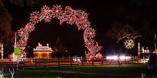Heritage Park Christmas Lights Cuero Development Corporation Cuero Texas