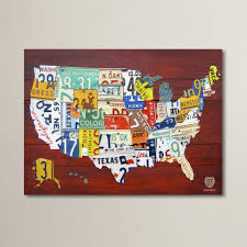 License Plate Map License Plate Maps Stevemarshart Extra Large License Plate Map Of