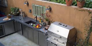 outdoor kitchen furniture how to build an outdoor kitchen askmen