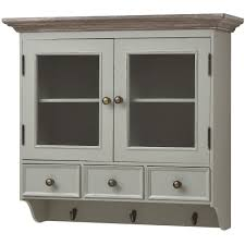 wall mounted kitchen display cabinets 1 drawer l table antique white ebay wall mounted