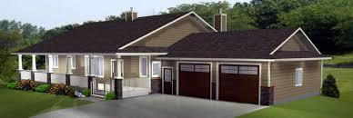 house plans with walkout basement walkout basements plans by edesignsplans bungalow house plan