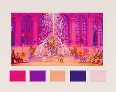 belle color palette to infinity and beyond pinterest belle