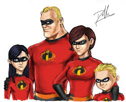 The Incredibles Family Halloween Costumes by Fanfictionbylioness Deviantart