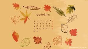 imagenes de otoño para fondo de escritorio fondo de pantalla calendario octubre 2017 adarve photocollage