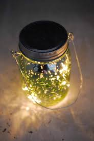 mercury glass jar 5 25 with led lights battery operated
