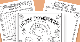 free thanksgiving printables for the table day family