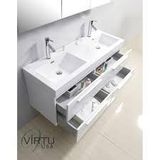 60 Inch Bathroom Vanity Double Sink Double Vanity Unit Tags Bathroom Double Sink Countertop Double
